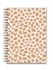 Notebook A5 Softcover | Pink Cheetah | Per 3 stuks