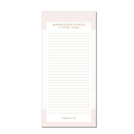Notitieblok   Boodschappenlijstjes Pink Dots