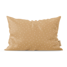 Pretty Pillow | Brown Dots | Per 3 stuks