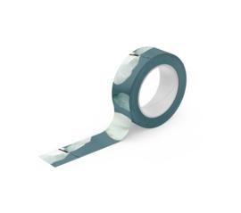 Washi Tape | Green Leafs  | Per 5 stuks