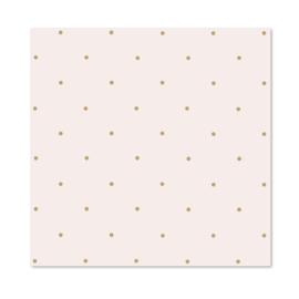 Inpakpapier per 10 rollen   Pink & Brown Dots