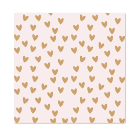 Inpakpapier per 10 rollen | HEARTS