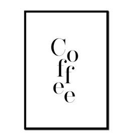 Poster A4 | Coffee | Per 5 stuks