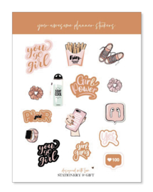 Planner Stickers   FITNESS  Fun