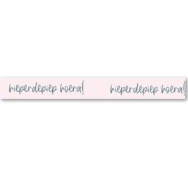 Washi Tape | Hieperdepiep Hoera!   | Per 5 stuks