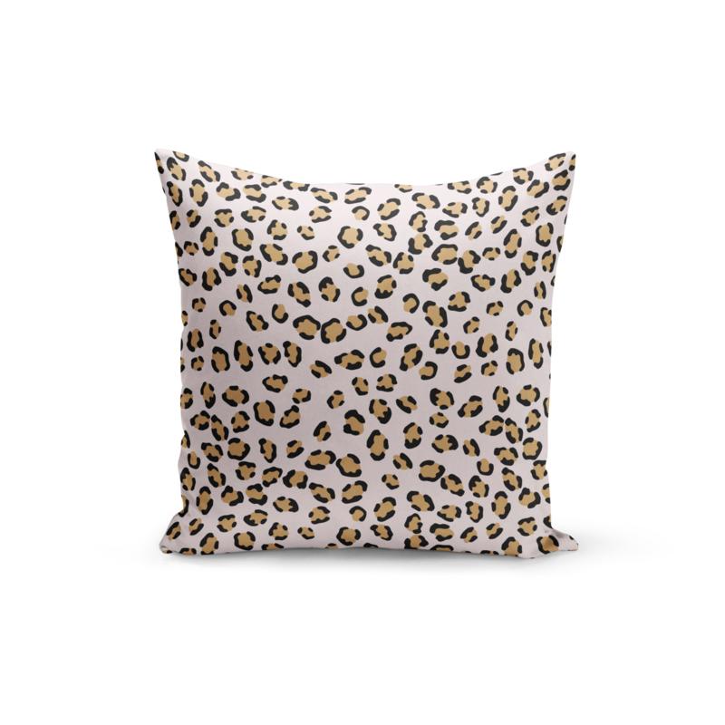 Pretty Pillow 50 cm | Pink Leopard | Per 3 stuks