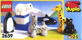 Duplo baby dieren 2659