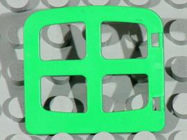 Raampje licht groen met ronde bovenkant