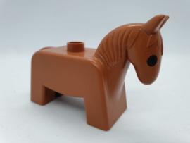 Duplo paard bruin retro