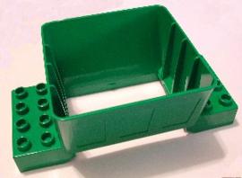 Laadbak Silo container groen