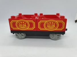 Duplo trein wagon stoomtrein