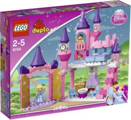 LEGO Duplo Disney Princess Assepoester's met doos Kasteel - 6154