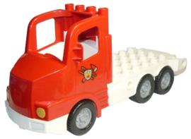 Lego Duplo brandweerwagen los