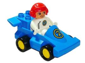 Lego Duplo raceauto 2609