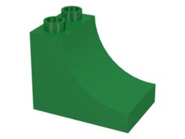 Duplo blokken : 2x3x2 met curve groen