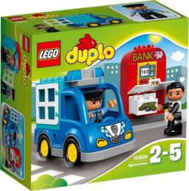 DUPLO Politiepatrouille - 10809 met doos