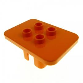 Tafel oranje vierkant