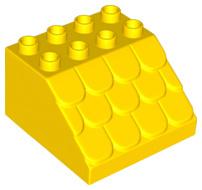 Duplo dak geel nieuw