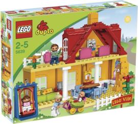 LEGO DUPLO Huis 5639 Familiehuis met doos