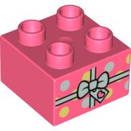 Duplo blokje cadeau roze