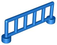 Duplo hekje blauw met 6 staanders