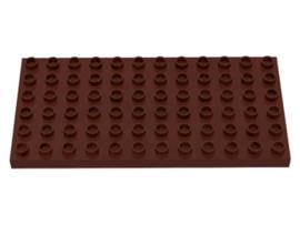 Duplo bouwplaat 6x12 bruin