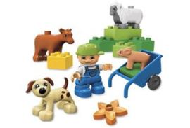 Lego Duplo boerderij dieren 4972