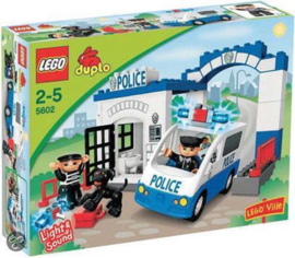Duplo politiebureau 5602 met doos