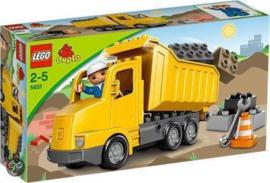 Duplo Ville Kiepwagen - 5651 met doos