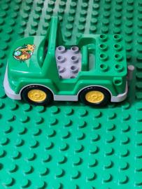 Lego Duplo groen met wilde dieren