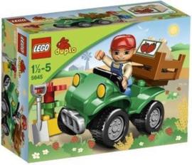 Lego Duplo vierwielige motor 5645 - Quad met doos