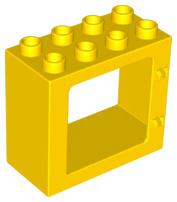 Raam frame geel
