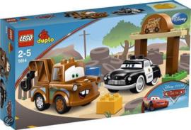 Lego Duplo Cars Takels werkplaats 5814 met doos