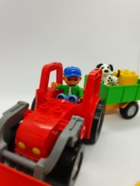 Lego Duplo grote tractor 5647 met doos
