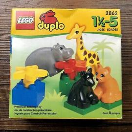 Duplo baby dieren 2862