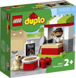 LEGO DUPLO Pizza Kraam - 10927 met doos
