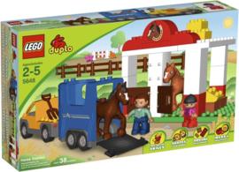 LEGO Duplo Ville Paardenstal - 5648 met doos
