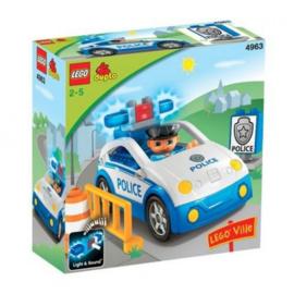 Lego Duplo politie auto - Politiepatrouille 4963 met doos