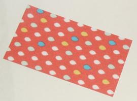 Duplo handdoek met druppel patroon nieuw