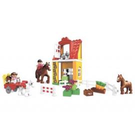 Duplo paardenstal / manage 4974