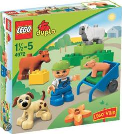 Lego Duplo boerderij dieren 4972 met doos