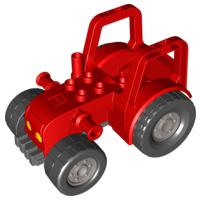 Lego Duplo grote rode tractor los