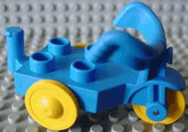 Duplo driewieler fiets blauw