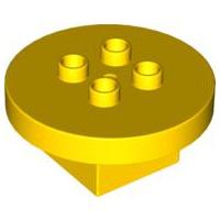 Tafel rond geel