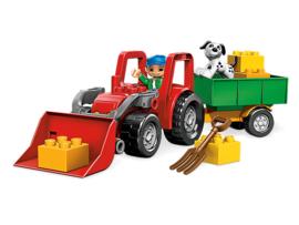 Lego Duplo grote tractor 5647