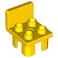 Duplo onderdelen : stoel geel