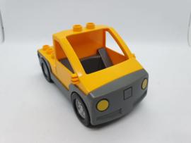 Lego Duplo auto pickup geel