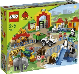 Lego Duplo grote dierentuin 6157 met doos