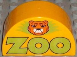 Lego Duplo dierentuin entree logo zoo