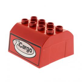 Duplo rood Cargo dak
